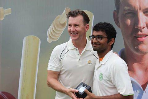 Brett Lee in RSET for a noble cause